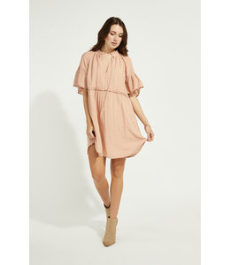 GENTLE FAWN MAVIS DRESS - PEACH -