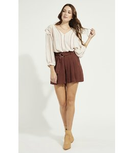 GENTLE FAWN ALPHA SHORT - BURGUNDY -