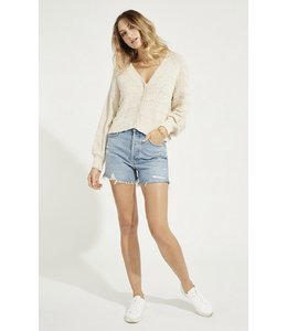 GENTLE FAWN MELODY CARDIGAN - CREAM -