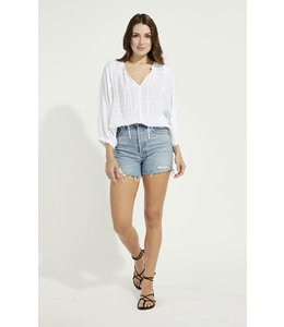 GENTLE FAWN JANE TOP - WHITE -