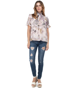 BTFL BTFL - NATURAL BLOUSE -