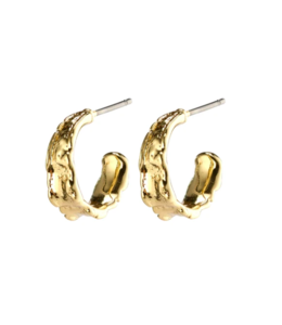 Bathilda Earrings - Gold