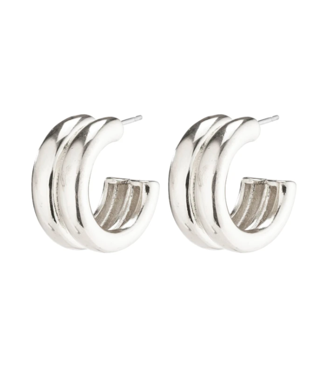 Heritage Earrings - Silver