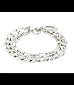 Compass Bracelet - Silver
