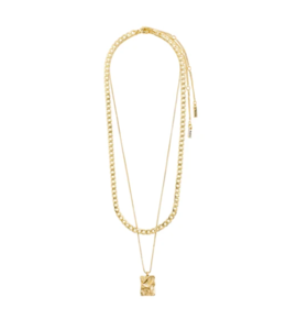 Bathilda Necklace - Gold