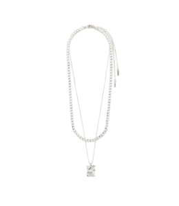 Bathilda Necklace - Silver