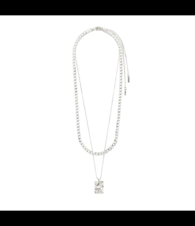 Bathilda Necklace - Silver