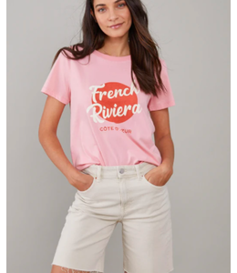 SOUTH PARADE JANE CREW TEE - FRENCH RIV - PINK-