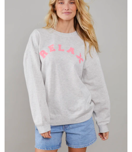 SOUTH PARADE ALEXA OVERSIZED CREW - RELAX -