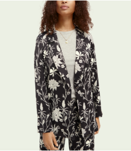SCOTCH AND SODA Printed Blazer - 161657 -
