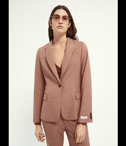 SCOTCH AND SODA Classic tailored blazer -162036- Rust -