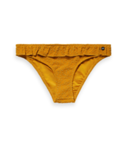 SCOTCH AND SODA Jaquard bikini bottom - Yellow -