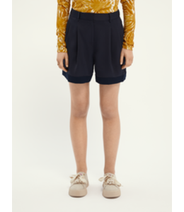 SCOTCH AND SODA Longer length tailored shorts -161595-