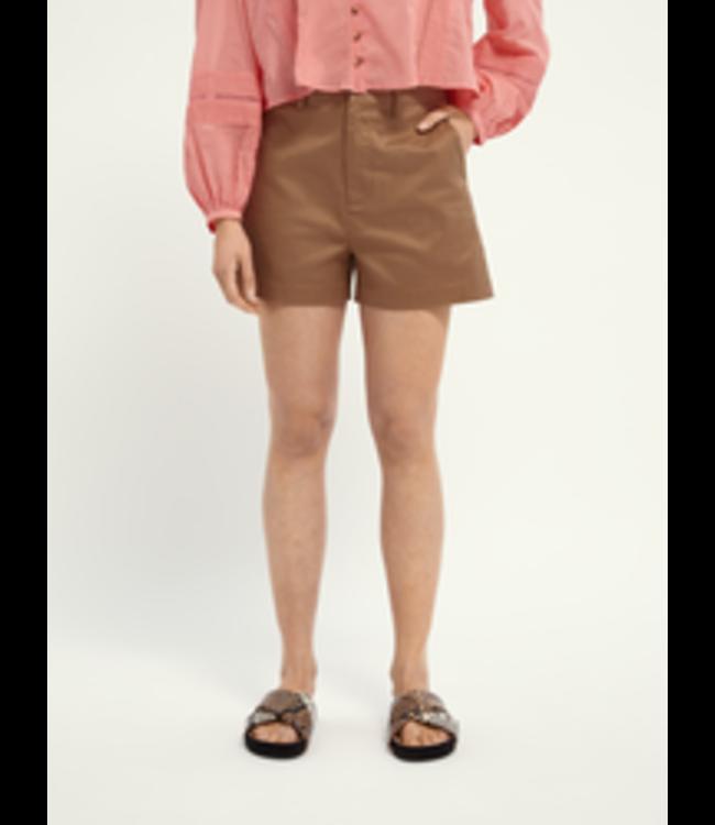 SCOTCH AND SODA 'Abott' organic cotton chino shorts -