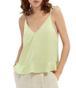 SCOTCH AND SODA Tank in viscose quality -161735- Mint -