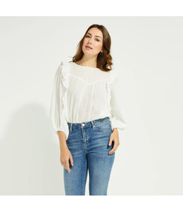 GENTLE FAWN LYDIA TOP - WHITE -