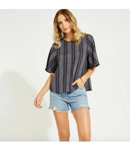 GENTLE FAWN ERA TOP- NAVY STRIPE -