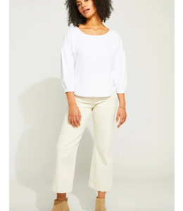 GENTLE FAWN CASSIA TOP - WHITE -