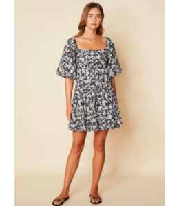 Eryn Mini Dress - Fiorella Floral -