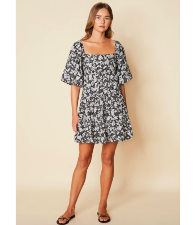 Eryn Mini Dress - Fiorella Floral -