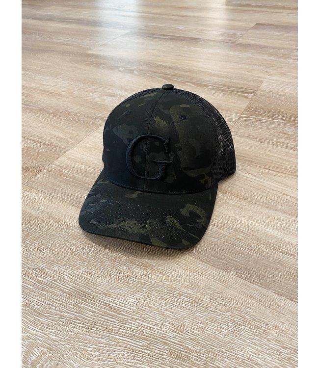 GLORIUS G  CAP - G-BLCK ON CAMO
