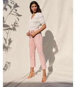 7 FOR ALL MANKIND HW  STRAIGHT - MINERAL ROSE -