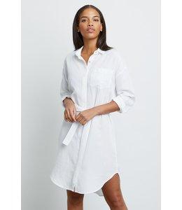 RAILS AMES DRESS - WHITE -