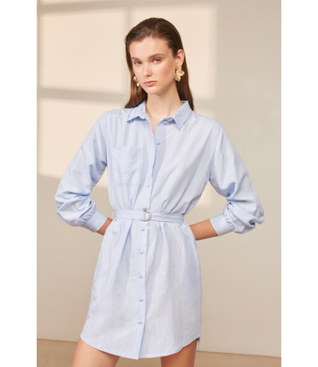 CANITA DRESS - BABY BLUE -