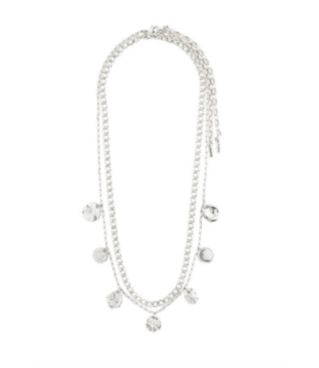 Poesy 2-in-1 Necklace - Silver