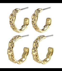 Pauline Earrings - Gold