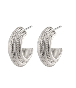 Macie earrings- silver