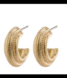 Macie earrings- Gold