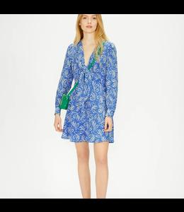 HEIDIEE DRESS - BLUE FLORAL -