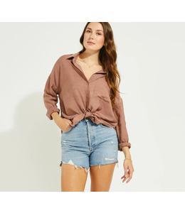 GENTLE FAWN ACADEMY TOP - Brown -