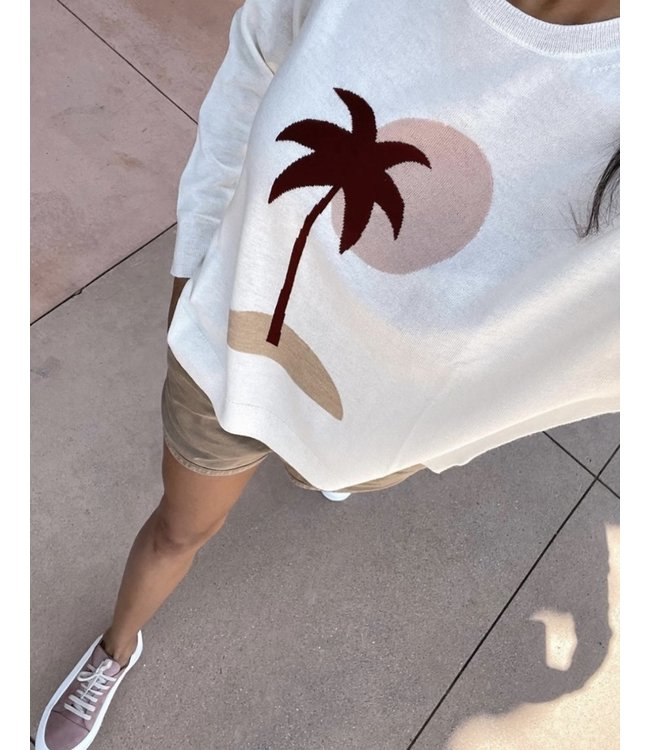SOUTH PARADE SUZAN SWEATER - palm cream -