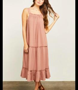 GENTLE FAWN NICO DRESS- CLAY -