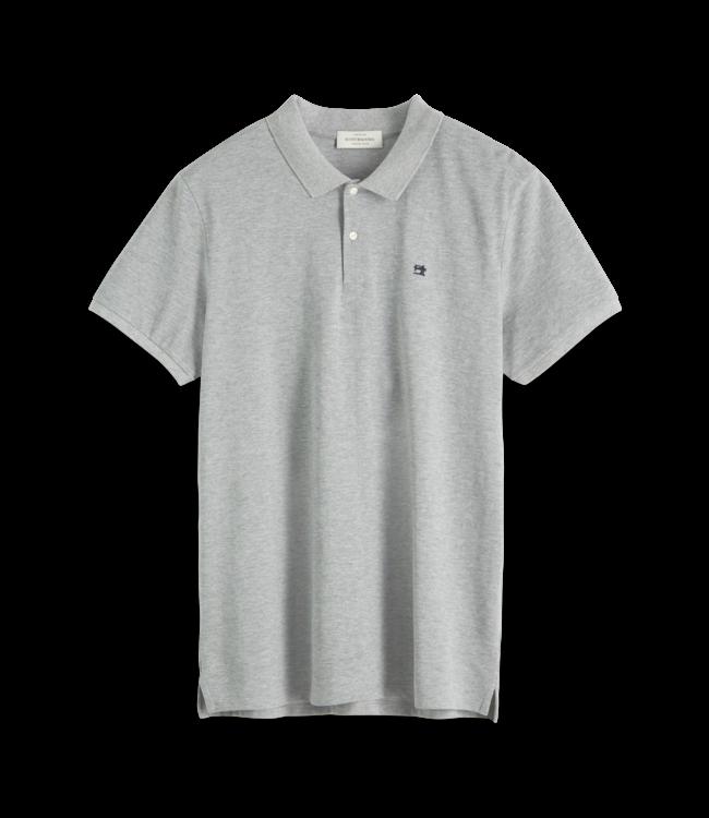 SCOTCH AND SODA Classic Polo - 132772- Grey -