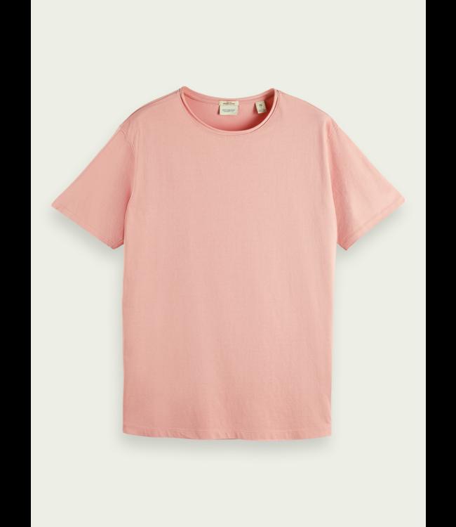 SCOTCH AND SODA Organic T-Shirt - 162887 - PINK -