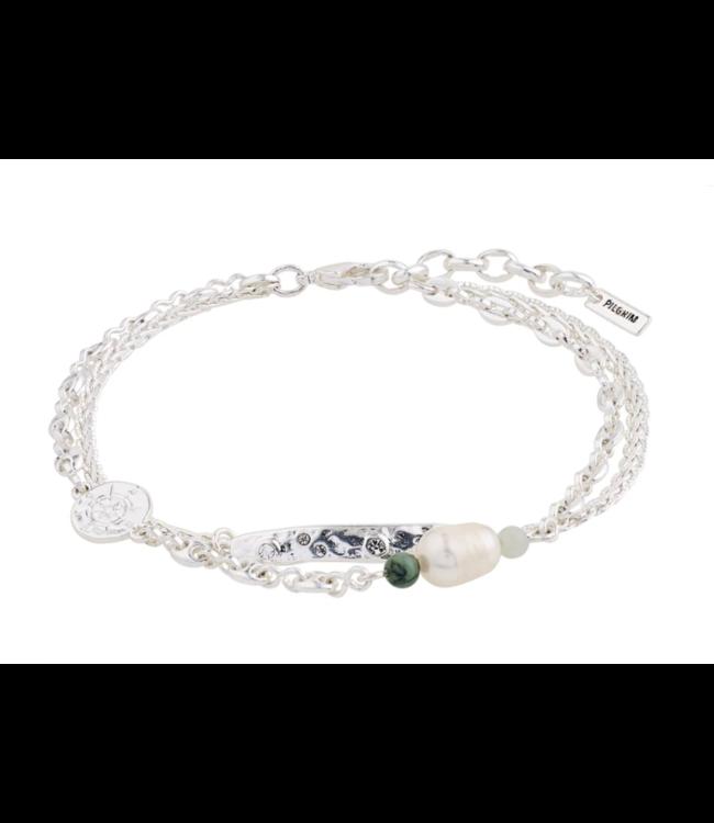 Poesy silver bracelet