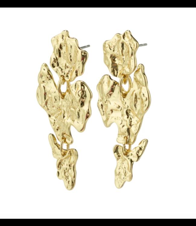 Horizon Earrings - Gold