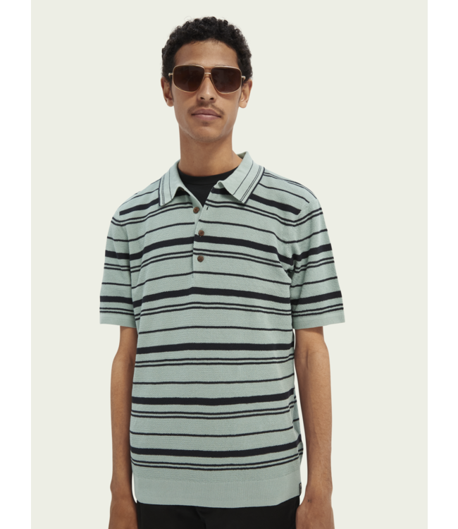 SCOTCH AND SODA Knitted Polo - 160667 -