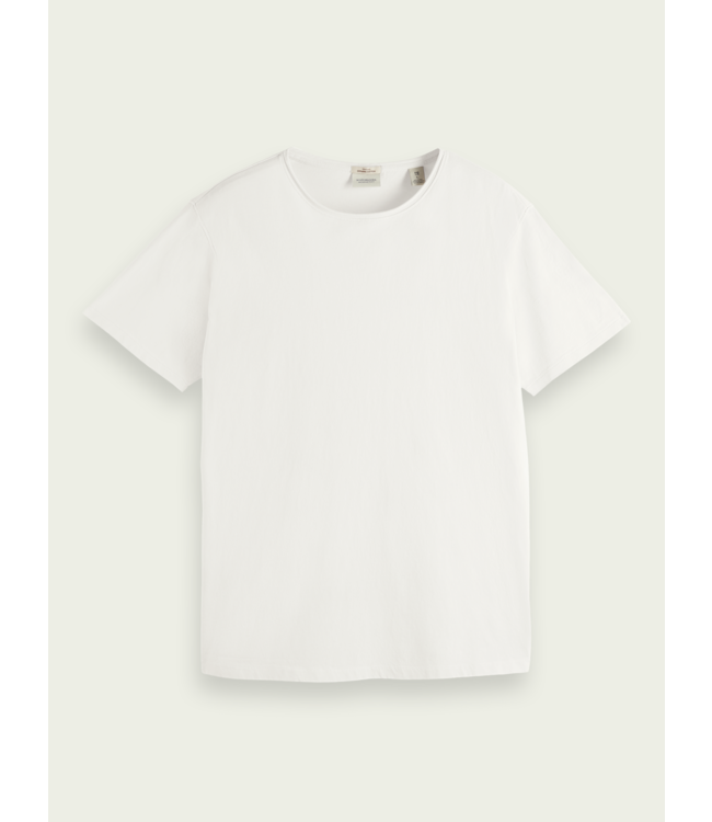 SCOTCH AND SODA Organic T-Shirt - 162887 - Off white -