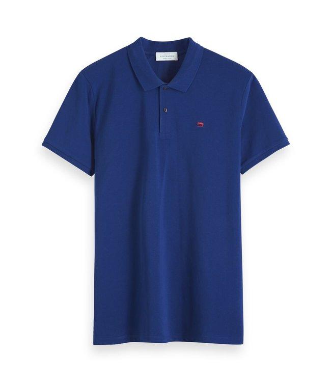 SCOTCH AND SODA Classic Polo -132771 - Blue -