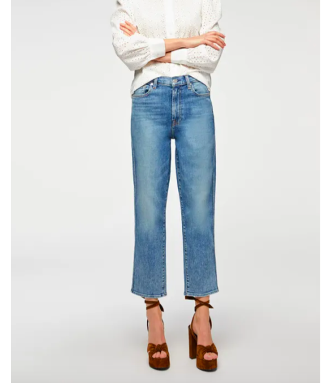 7 FOR ALL MANKIND HW CROPPED STRAIGHT - SVT -
