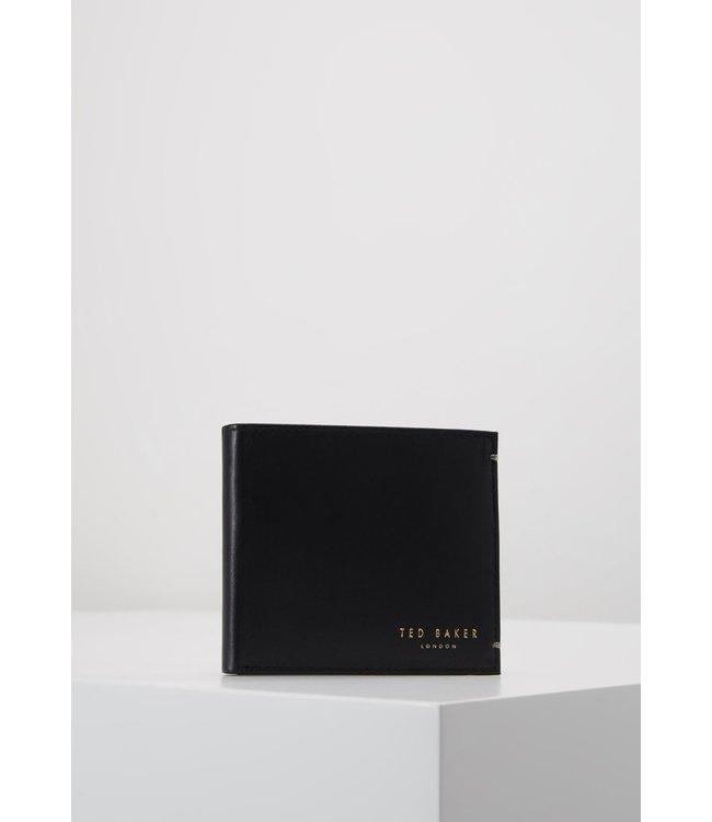 CORE BIFOLD LEATHER WALLET - BLACK