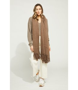 GENTLE FAWN JOURNEY SCARF - OLIVE