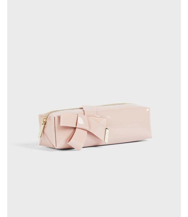 NIKARA Knot bow brush case - PINK