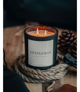 Lace & Leather Candles Gentleman Candle