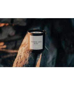 Lace & Leather Candles Homme des bois