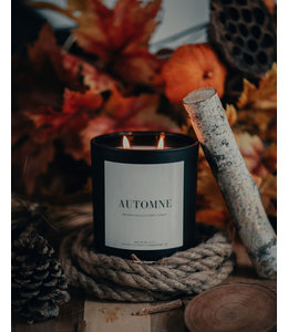 Lace & Leather Candles Automne Candle